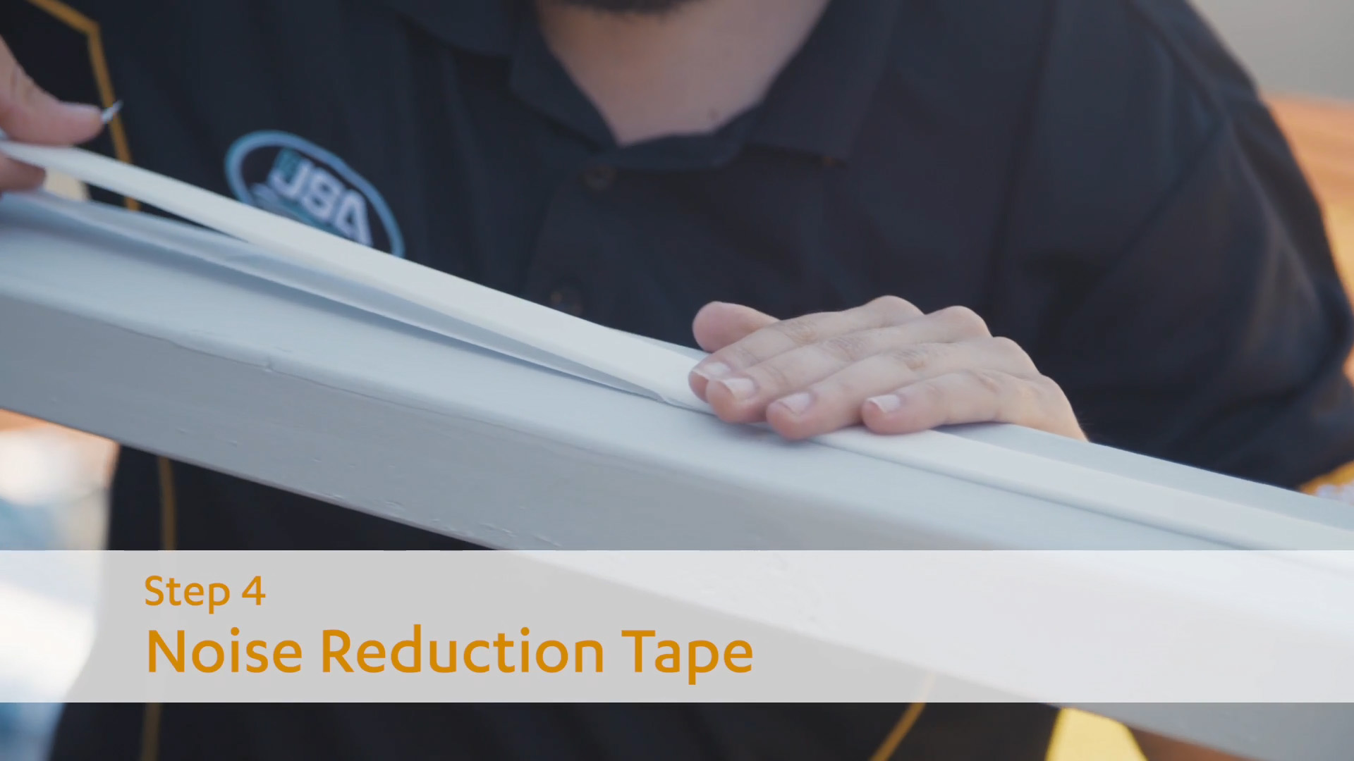 How to Install Suntuf - Noise Reduction Tape